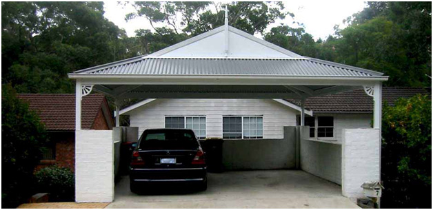 dutch gable Mr carports melbourne