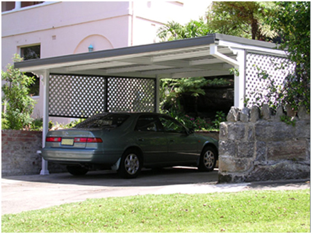 flat roof Mr carports melbourne