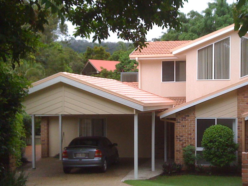 A carport designed to perfectly match your Brisbane house.