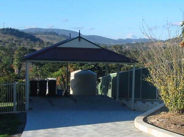A carport to keep the sun and frosts off your car is a smart choice in Canberra