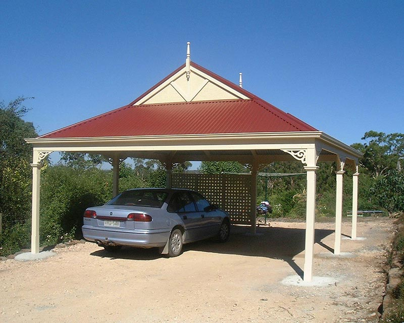 Protect your car from the Canberra elements with a carport