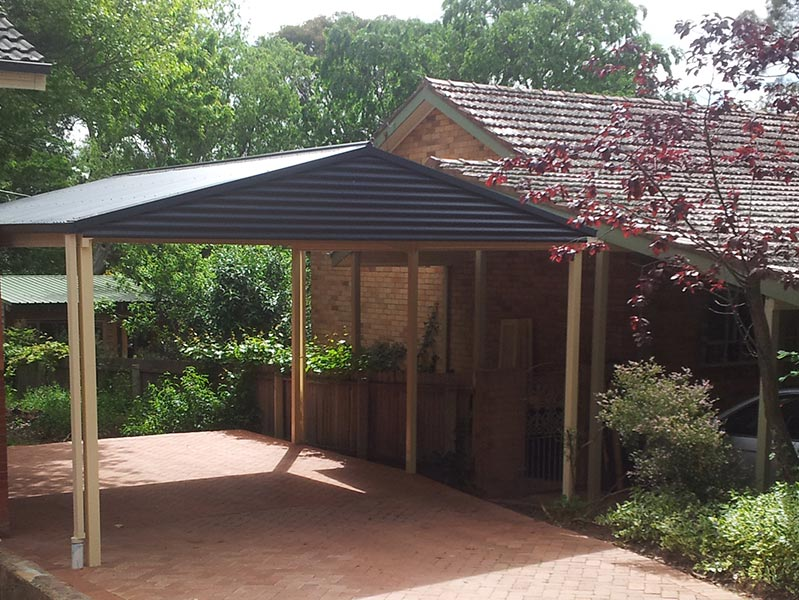 Large or small, Mr Carports can build any size carport for your Canberra home