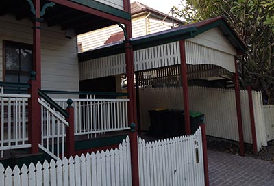 This stylish Brisbane carport may look like it was built at the same time as the house, but it wasn't!