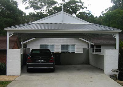Cool down this summer with a new Canberra carport