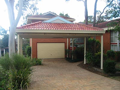 A Brisbane carport that's no longer used as a carport - now that's ingenious!