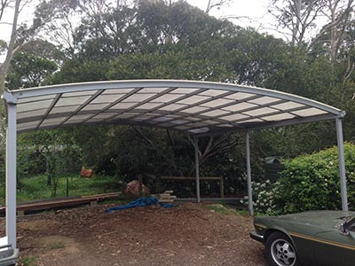 What will you use for the roofing material on your new Brisbane carport?