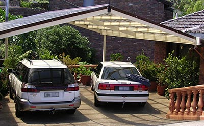 How can you have more light and space in your new Melbourne carport?