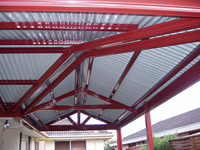 A low-maintenance Adelaide carport is possible with materials such as steel.
