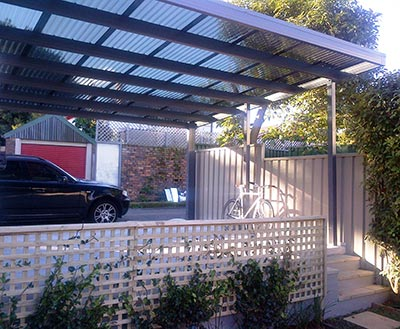 Beat the heat this summer with a Melbourne carport.
