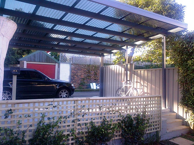 Canberra Carport Roofing Options